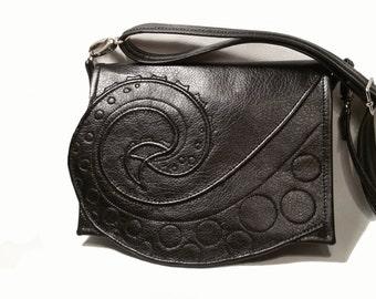 Tentacle purse, Black faux leather Octopus bag,  Black octopus bag, Tentacle bag, crossbody bag, vegan bag, Black bag, Black vegan  purse