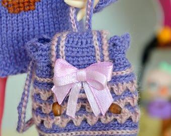 Backpack for yosd, littlefee, 1/6 BJD doll .