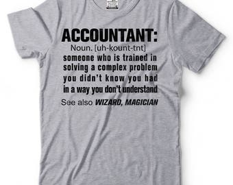 Accountant Definition noun T-shirt Gift for Accountant Funny CPA Tax professional Accountant T-shirt gift for dad gift for mom