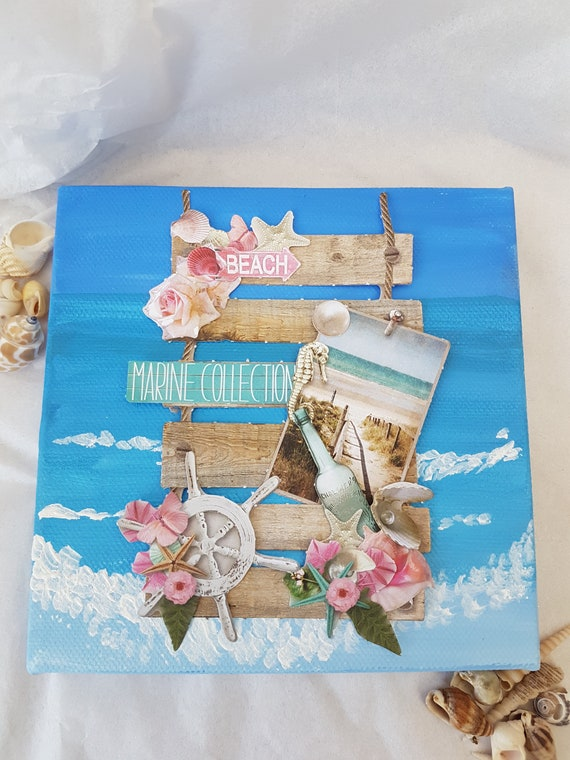 3D Romantic Summer Greeting card kit to make 12 birthday – Make a Birthday Card with Your Own Photo