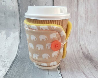 Coffee Cup Cosy - Coffee Cup Sleeve - Coffee Lover Gift - Cup Cosy