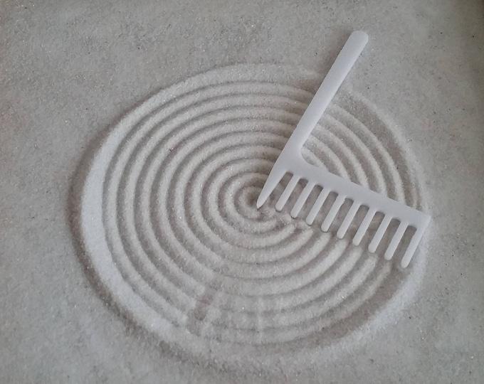 Zen Garden Rake, Large Cocentric Circle Maker Rake, Sand Rake