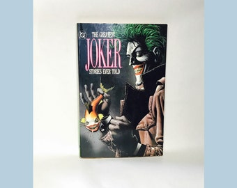 The Greatest Joker Stories Ever Told, Graphic Novel, D.C. 1988