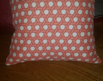 How To Make Removable Throw Pillow Covers With Velcro Closure : Grovedale Paisley Spice Pillow Cover with Velcro Closure