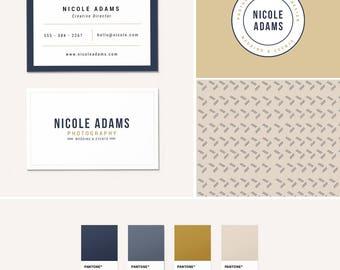 Pre-Made Branding Kit - Logo Design - Business Cards - Pattern Design