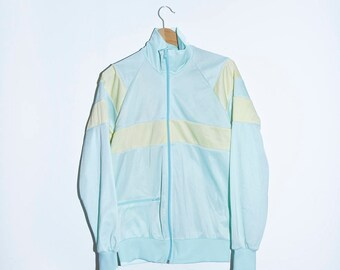 80s Track suit Overall Pastel Ice Cream Jacket Jogging Running Sports Wear