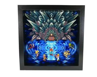 Chrono Trigger (SNES) Lavos Battle Shadow Box