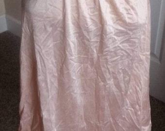 SALE Vintage Pink Sachet Half Slip Medium Lingerie