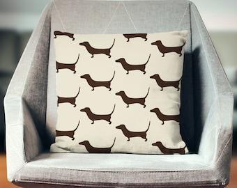 Daschund Throw Pillow | Daschund Pillow | Daschund Gift | Weiner Dog | Daschund Pillow Cover | Daschund Cushion | Daschund Decor
