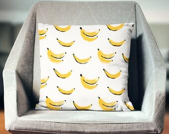 Banana Pillow | Banana Throw Pillow | Banana Pillow Cover | Banana Pillow Case | Banana Cushion | Banana Pillowcase | Banana Decor