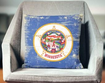 Minnesota Pillow | Minnesota Pillow Case | Minnesota Throw Pillow | Minnesota Pillow Cover | Minnesota Cushion | Minnesota Décor | Minnesota