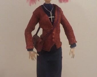 Colleen ( Little Sister )  OOAK art doll