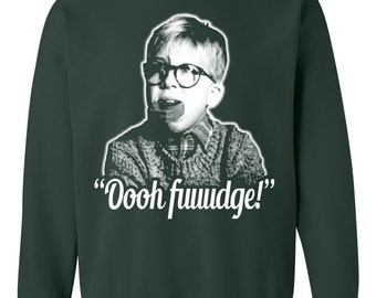 Ugly Christmas Sweater - Oh Fudge Design