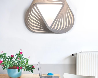 Wall light TWIK L - Design wood