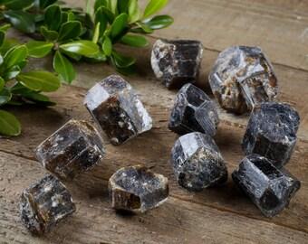 30g Lot Mini DRAVITE Rough Stone Tourmaline Crystals - Tourmaline Jewelry, Tourmaline Ring, Tourmaline Pendant & Tourmaline Necklace E0014