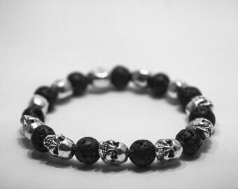 Bracelet death's head / Skull Bracelet Pk02