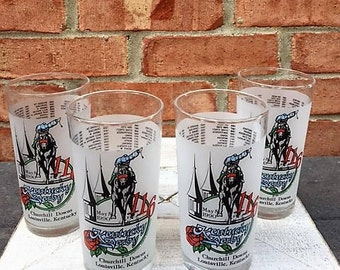116th Kentucky Derby Mint Julep Glasses-1990