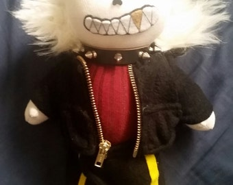 Underfell Sans Plush (Made To Order)