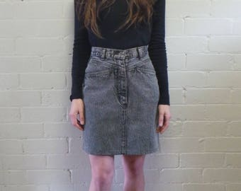 Indiana Blues Denim Mini Skirt