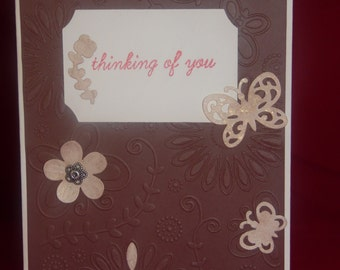 Thinking of You Greeting Card - Blank