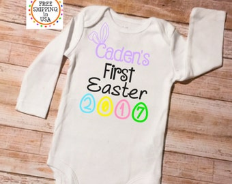 First Easter Outfit, My First Easter, First Easter, Easter Onesie, Easter Outfit, 1st Easter Outfit, Baby's First Easter, Babys First Easter