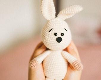 Bunny Rabbit, Crochet Bunny, Amigurumi, Plush Bunny