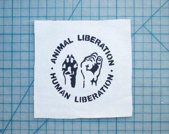 Animal Liberation / Human Liberation Patch