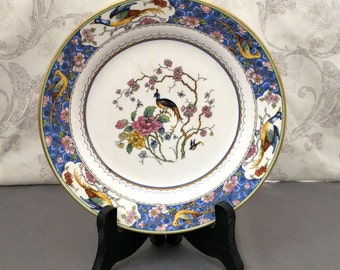 Luncheon Plate - Bird of Paradise Pattern by The Potters Cooperative Ohio