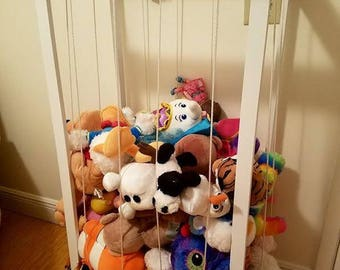 Stuffed animal zoo, Stuffed animal storage, Toy Box, Toy organizer, Toy storage