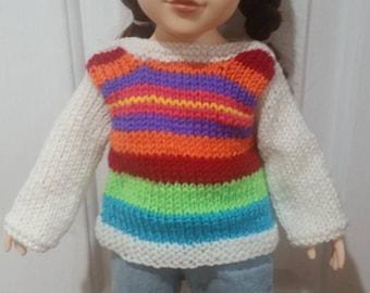 Stripped Jumper - Journey Girl Doll