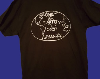 The NEW One Earth One Humanity T-SHIRT