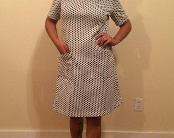 Handmade Vintage Polka Dot Mod Dress