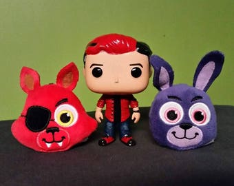 SUPER Short Time SALE Custom Markiplier Pop Red Hair