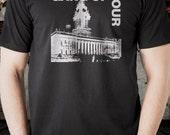Gang of Four T shirt screen print short sleeve black the jam killing joke