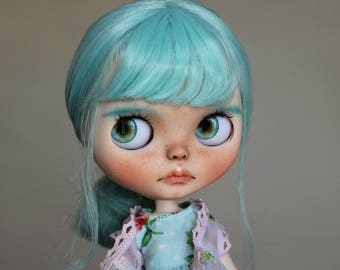 Tiffany - OOAK Custom Art Blythe Doll by Rainfable Dolls (2017)