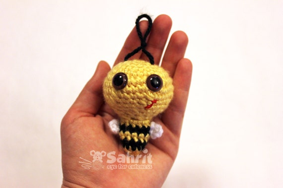 PATTERN Instant O-SO-CUTE Billy the Bumble Bee Crochet Amigurumi doll