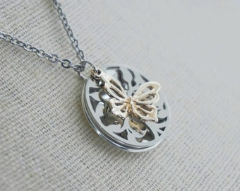 Butterfly - Quote Necklace - Sterling Silver - The Shack