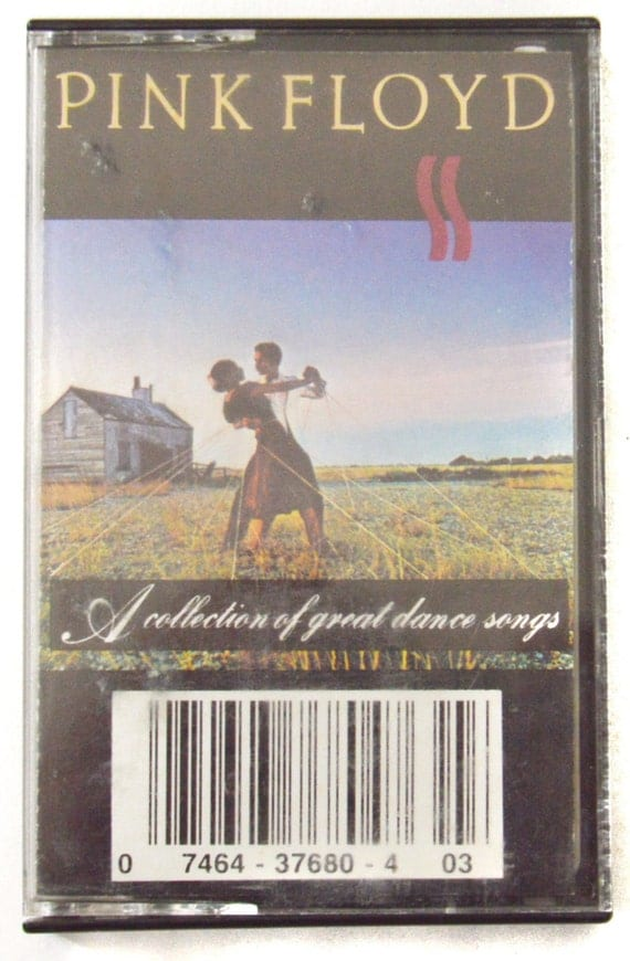 Vintage 80s Pink Floyd A Collection of Great Dance Songs Album Cassette Tape