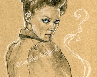 DOCTOR WHO - MISSY! A4 Art Print (29.7 x 21 cm)