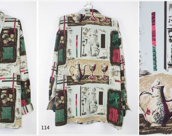 Vintage Vol3 Shirts: floral drink wine/grey sketch painting/British style floral bouquet/black floral sketch Paris shirt
