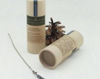 Deodorant Stick - Trail Blazer - Lavender, Sandalwood, EVERYDAY, Clay, No Aluminum, Sustainable Packaging - 1.75 oz