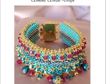 "TUTORIAL ""Princess"" bracelet"