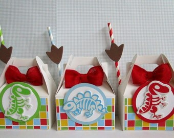 Dinosaur Favor Boxes Party Favors