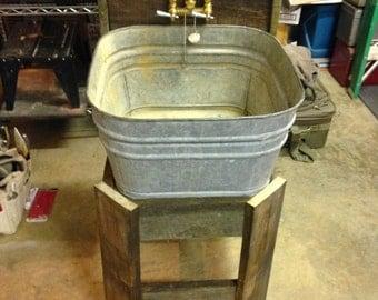 Galvanized Utility Sink