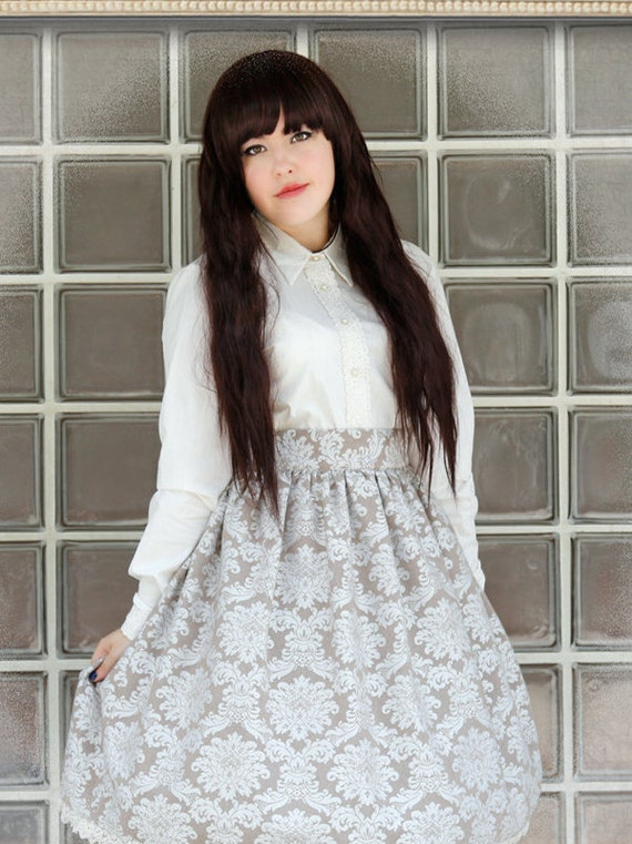 Gothic Lolita Cotton Shirt
