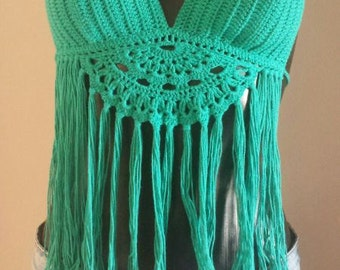 crochet top, crochet halter top, festival top, halter top, crochet crop top, crochet bikini top, crop top, boho top, summer top, hippie top