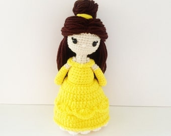 Belle Crochet Doll Beauty and The Beast Inspired