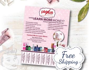 Plexus Flyer - Tear Off Opportunity - FREE SHIPPING