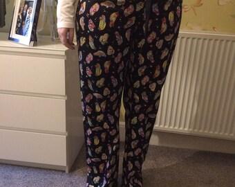 Tall ladies pyjama bottoms - Black Beetle Cars.