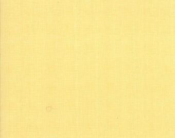 Lulu Lane Woven look fabric in Buttercup Yellow by Corey Yoder for Moda Fabrics #29027-12